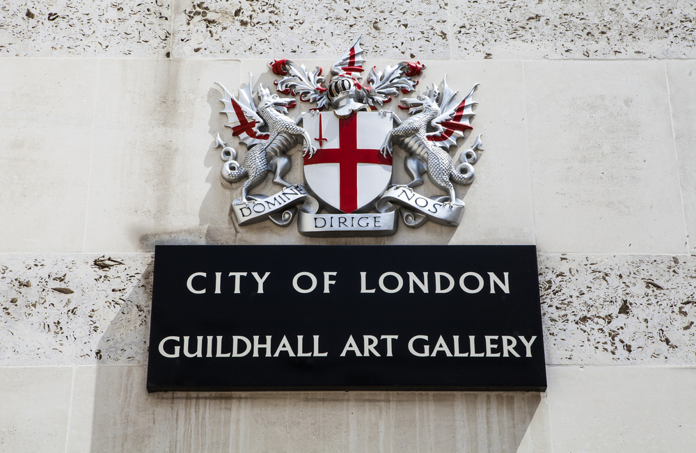 Guildhall Art Gallery in London
