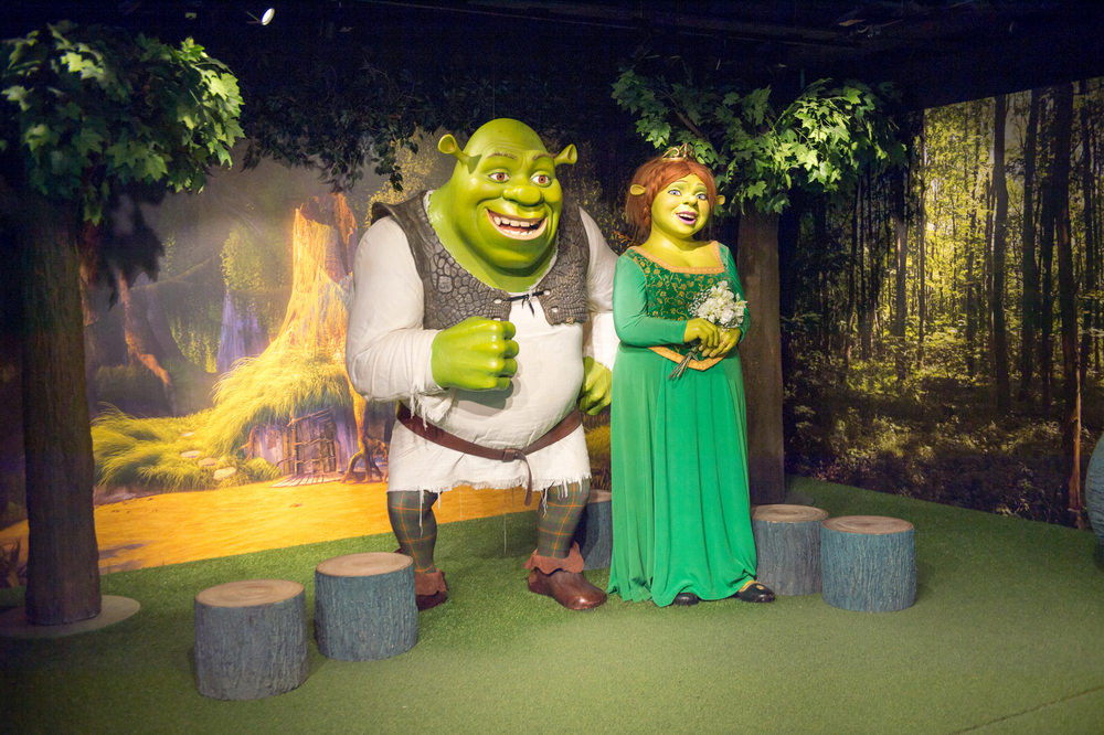 Amazing and fabulous adventure of Shrek's London