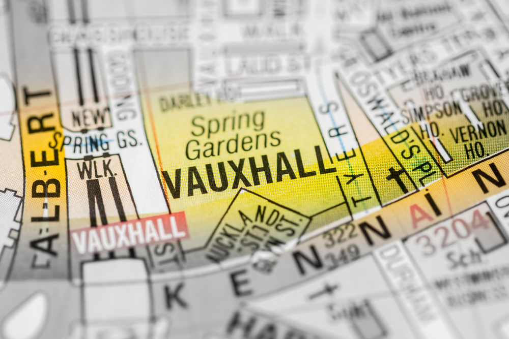 Vauxhall in London