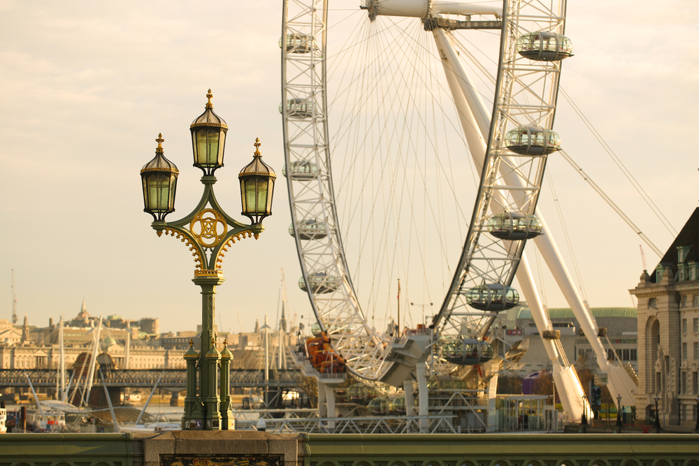 Inspirational attractions in London