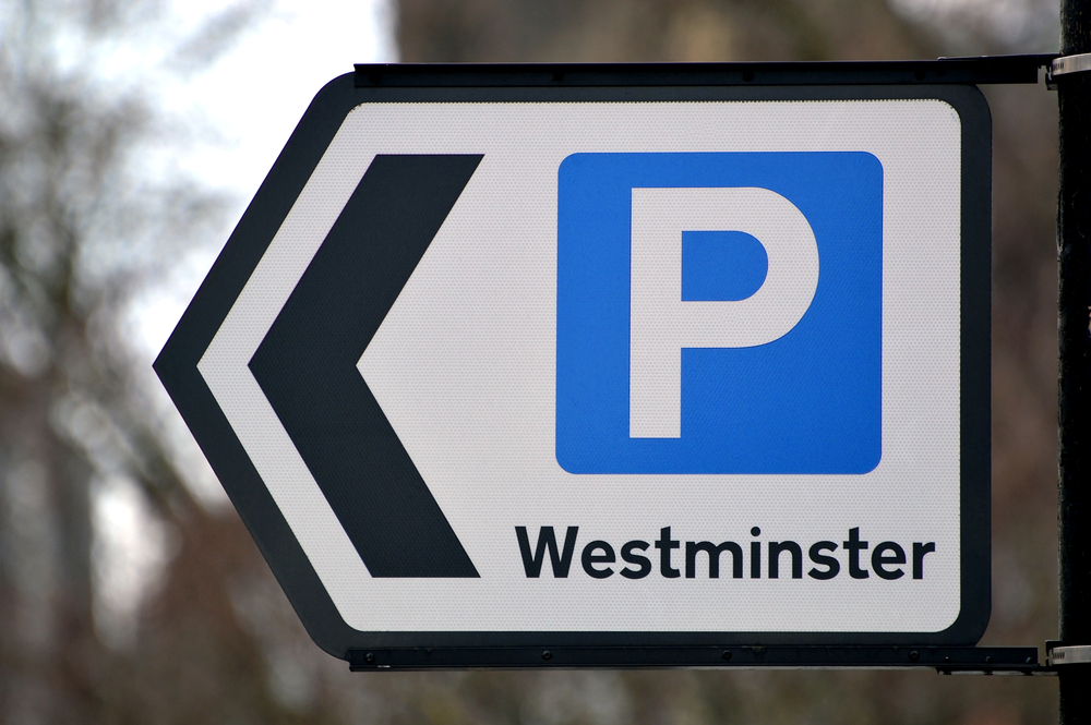 London Parking Sign