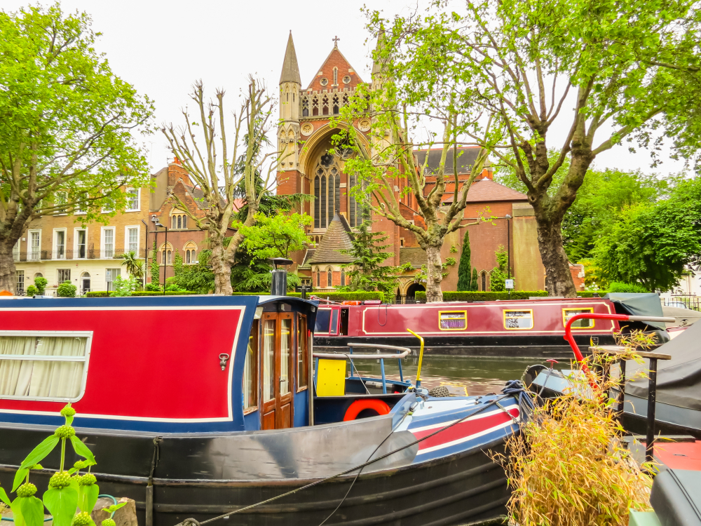 canal barge tour