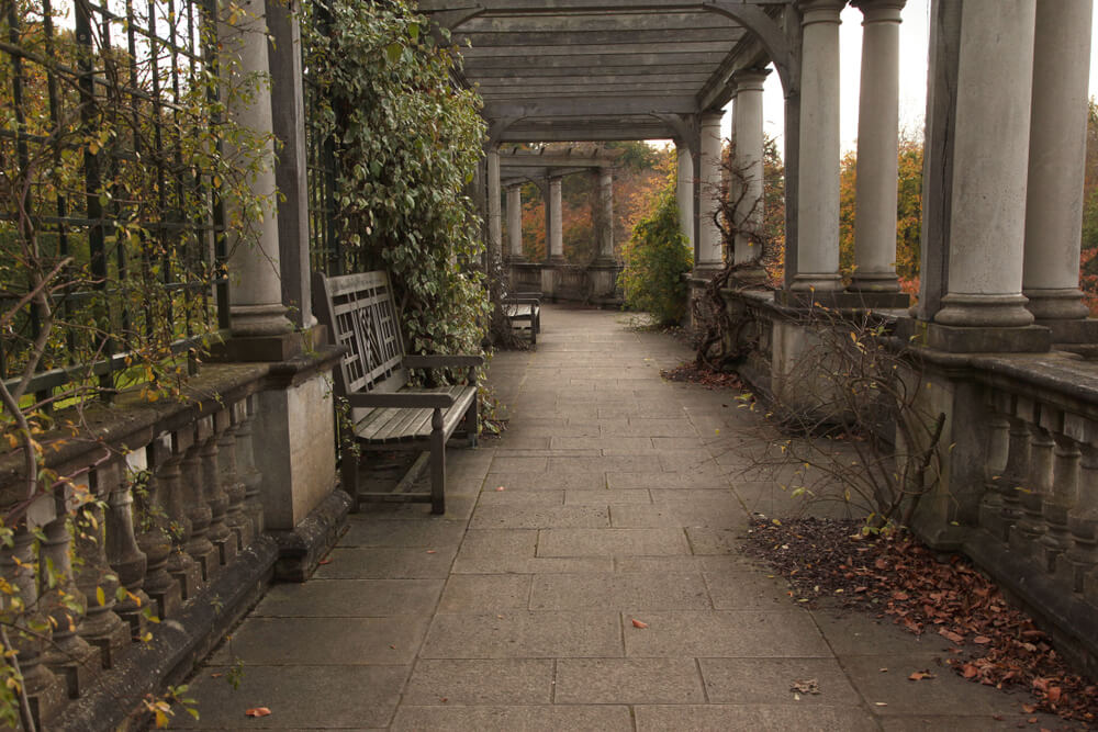 The Hill and pergola