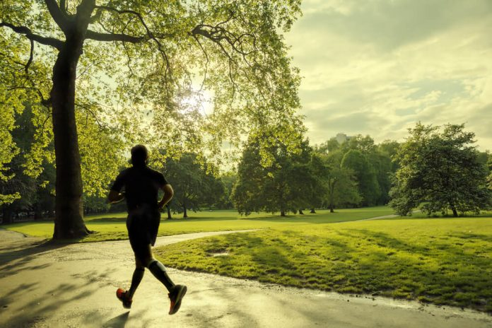 Jogging place in london